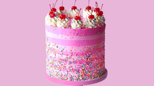 Strawberry Birthday Cake Recipe