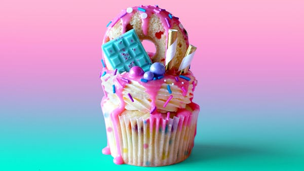How Much Is An Oil Change >> Freakfetti Cupcakes ~ Recipe   Tastemade