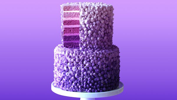 Purple Rain Cake Recipe Tastemade