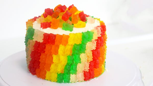 Gummy Bear Cake Designs