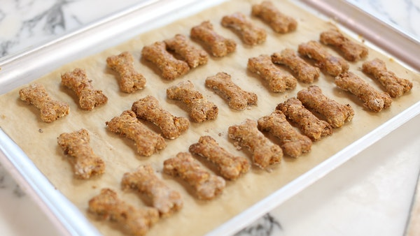 tastemade peanut butter and carrot dog biscuits recipe