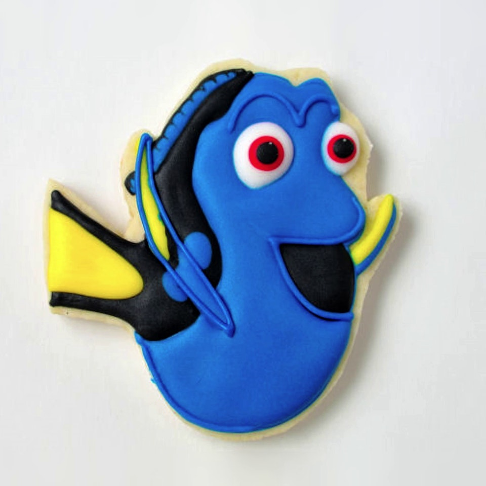 Finding Dory ~ Cookie The News | Tastemade