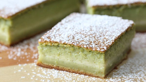 Matcha Magic Cake ~ Recipe