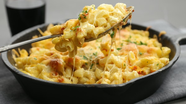 Easy Skillet Macaroni and Cheese ~ Recipe
