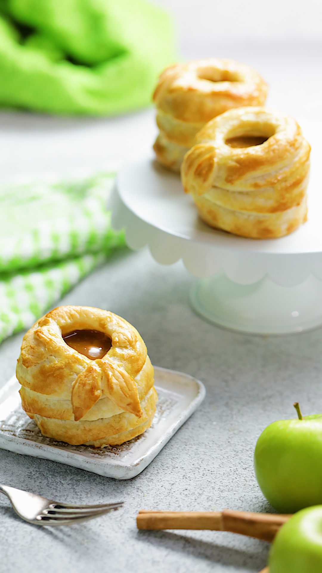 Puff Pastry Wrapped Apples