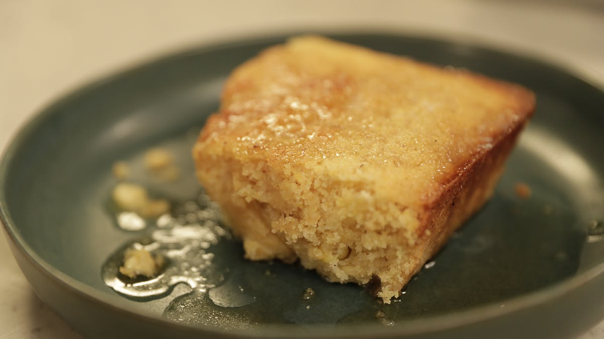 Sweet Corn Pudding with Brown Butter and Vanilla Image