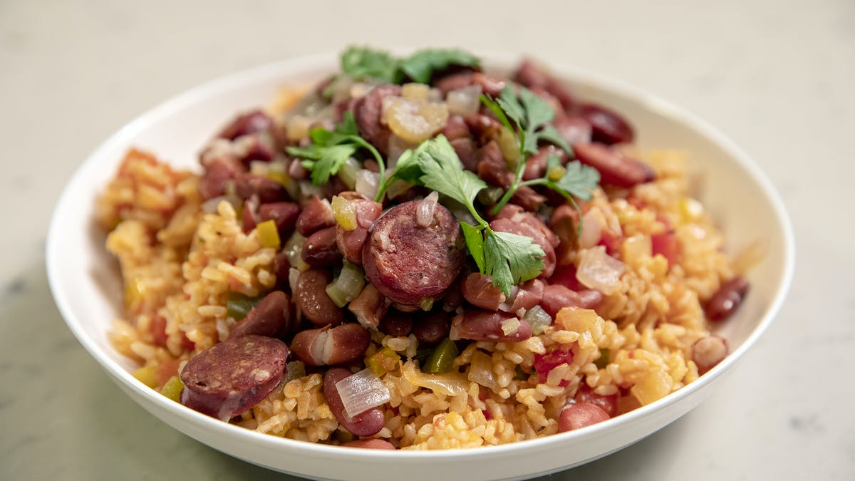 Red Bean and Dirty Rice Image