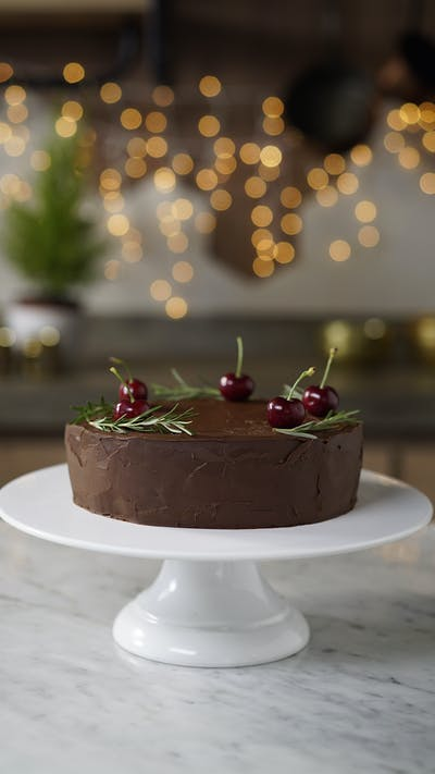 Creamy Chocolate Torte