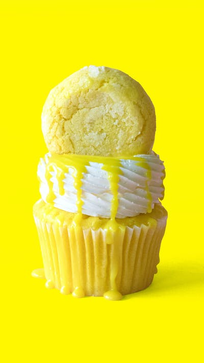Lemon Cookie Cupcakes