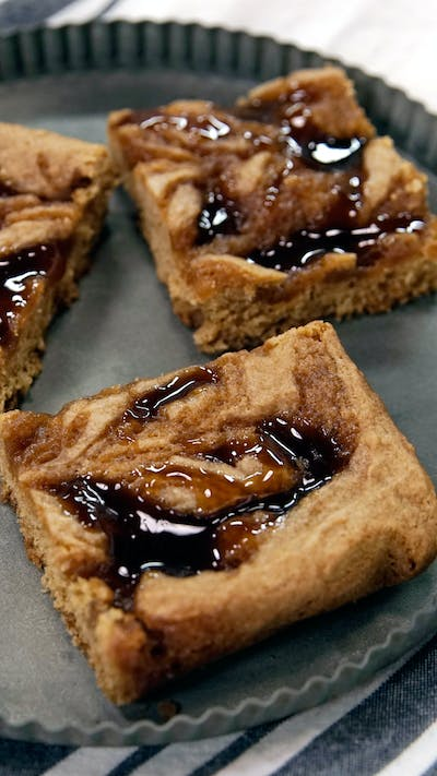 Butterbeer Blondies