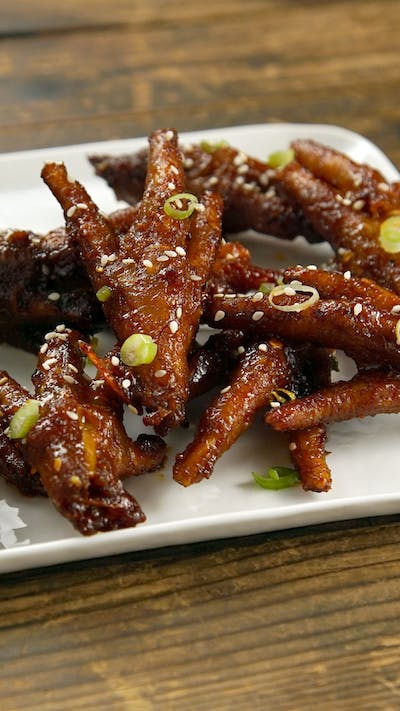 Korean Style Chicken Feet