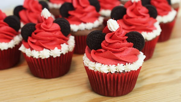 Mickey Mouse Christmas Cupcakes Recipe Tastemade