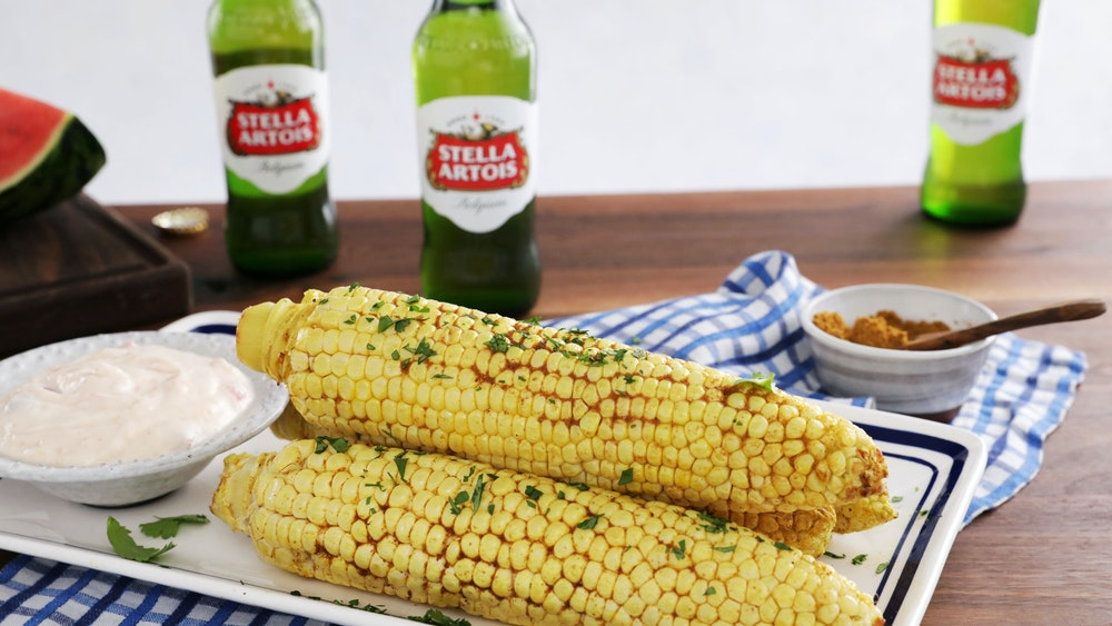 Curry Roasted Corn