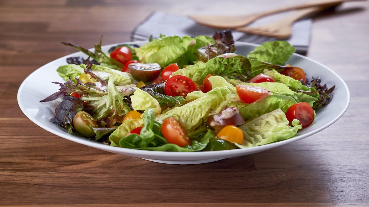 Salad with Mustard Maple Vinaigrette Image