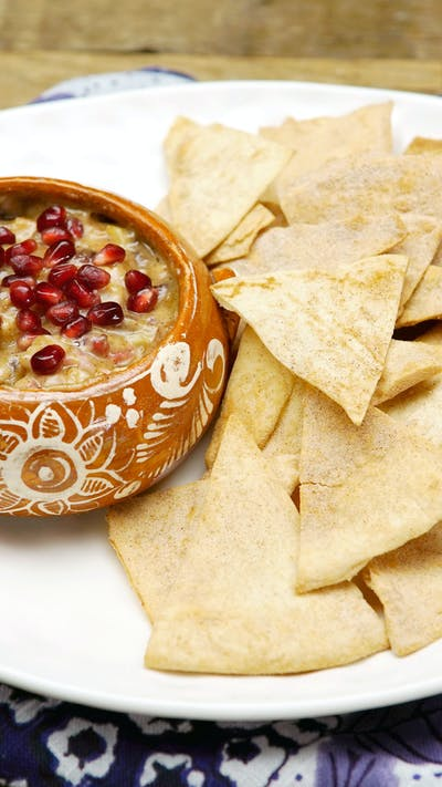 Cinnamon Tortilla Chips With Fruit Salsa