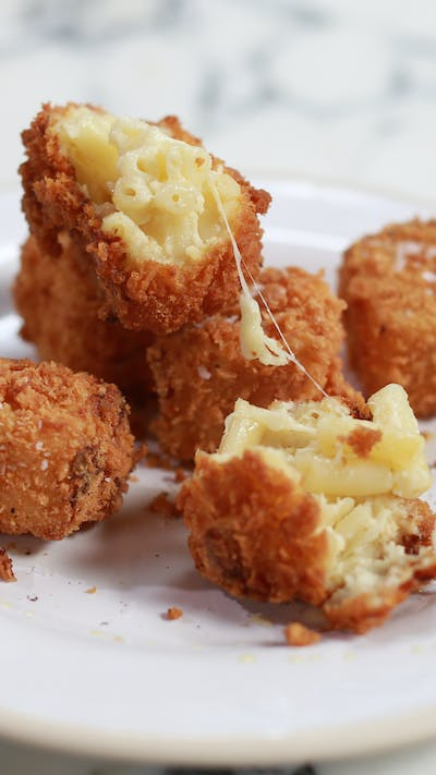 Deep Fried Truffled Mac 'n' Cheese