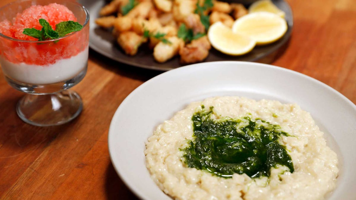 Risotto with Pesto Image