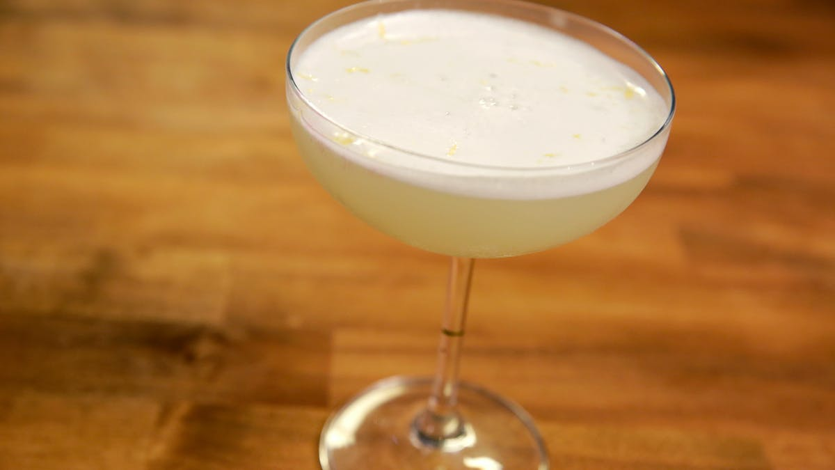 Meyer Lemon Gin Fizz Image