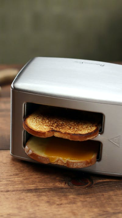 Toaster Grilled Cheese