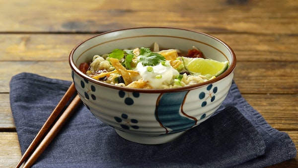 Mexican Tortilla Soup With Instant Ramen Recipe Tastemade