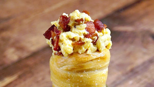 Bacon Mac And Cheese Bread Cone Recipe Tastemade