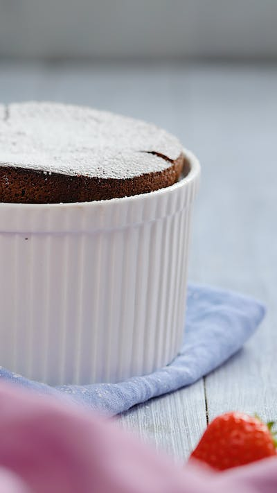 Cheat's Chocolate Souffle