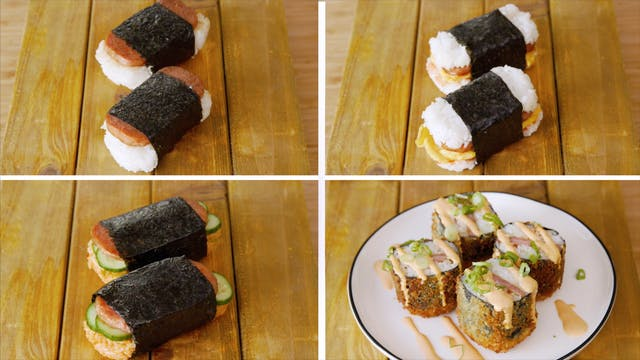Spam Musubi 4 Ways Tastemade