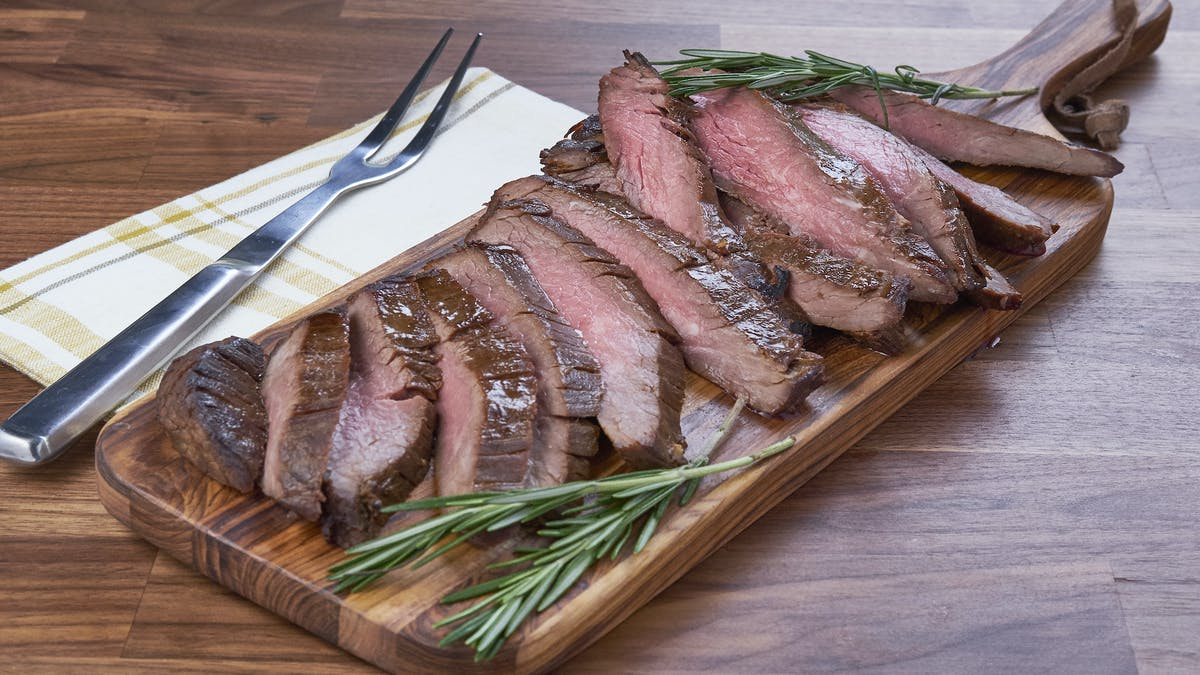 Coffee and Molasses Flank Steak Image