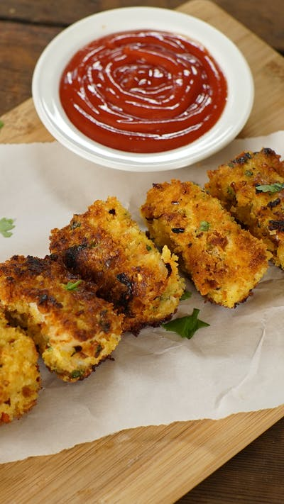 Indian Fish Fingers