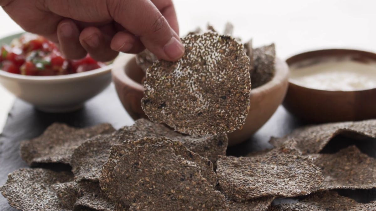 Chia Seed Crackers Image