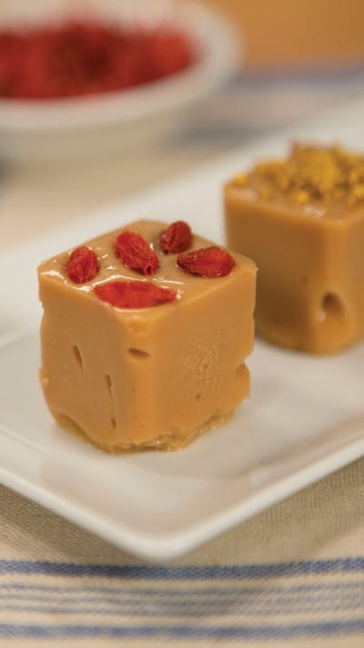 Citrus Olive Oil Freezer Fudge