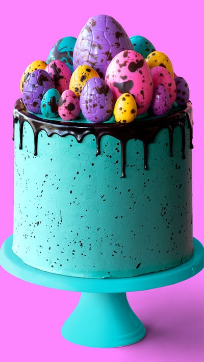 Speckled Egg Cake