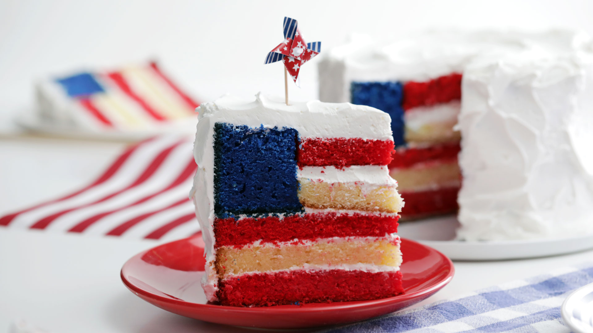 Flag Cake Recipe Tastemade