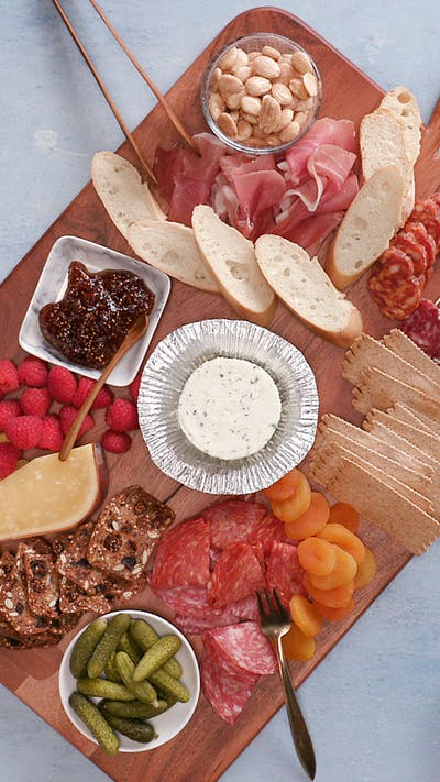 The Perfect Boursin Cheeseboard