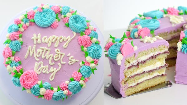 Happy Mother S Day Cake Recipe Tastemade
