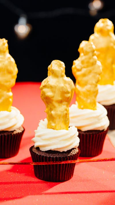 The Oscars Cupcakes
