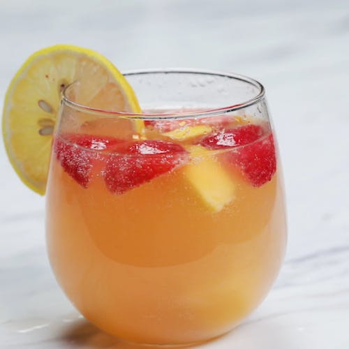 Cannabis-Infused Strawberry Mango Sangria