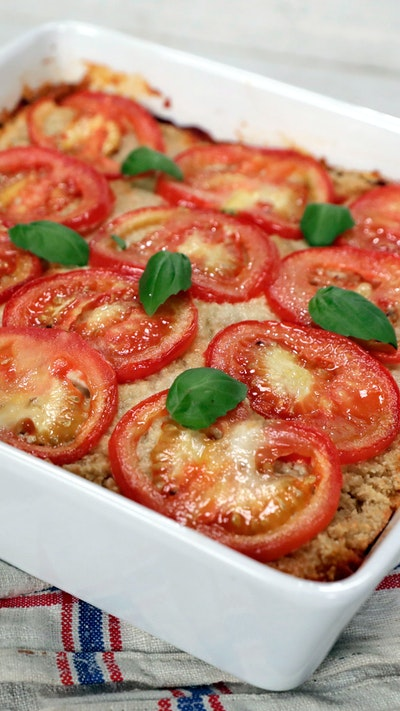 Noodle-Free Vegetable Lasagna With Cashew Cheese