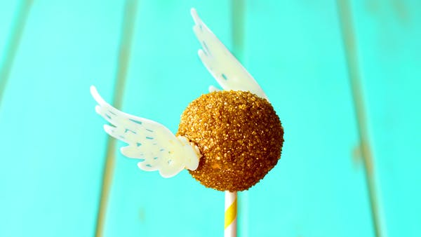 Golden Snitch Cake Pops The Scran Line Tastemade
