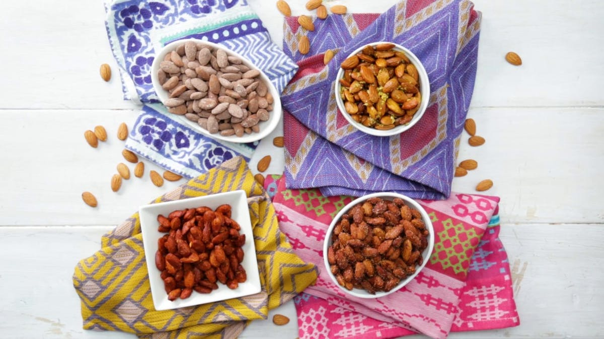 4 Easy Spiced Almonds Image
