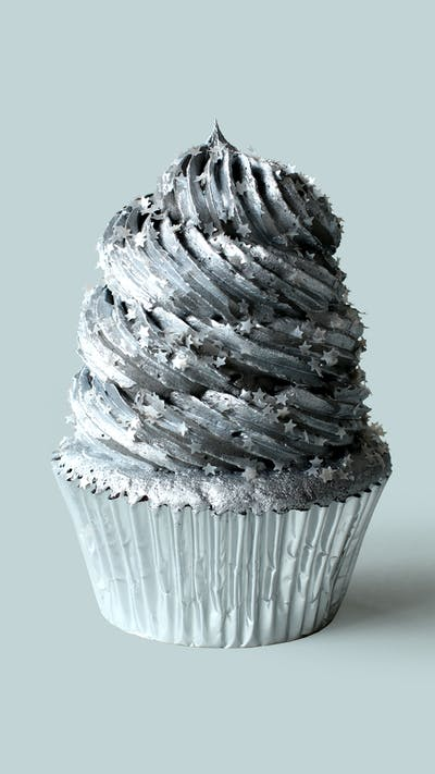 Galaxy Space Time Cupcakes