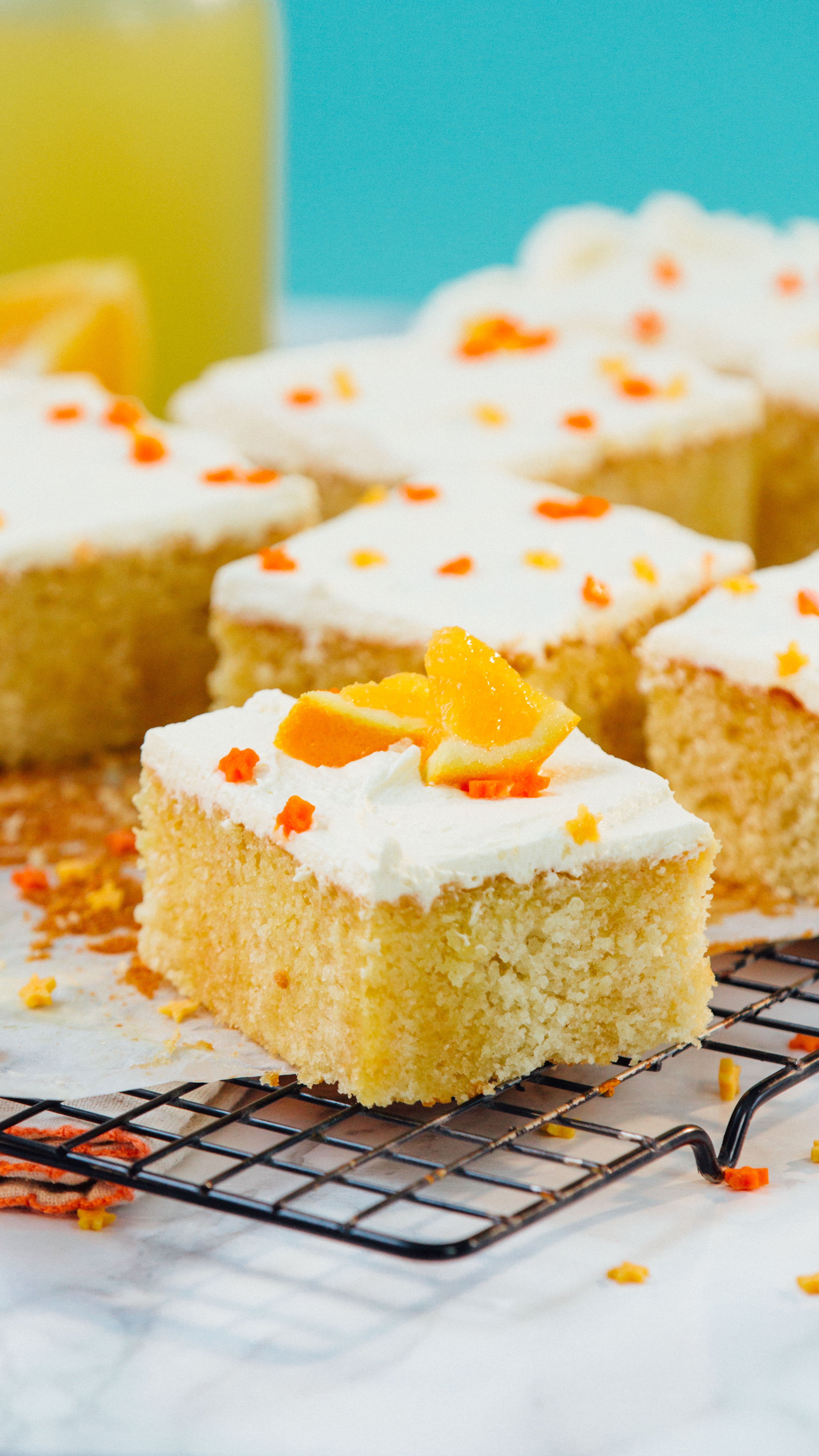 Orange Creamsicle Cake Recipe With Orange Soda