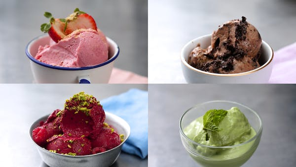 Frozen Yogurt 4 Ways Recipe Tastemade