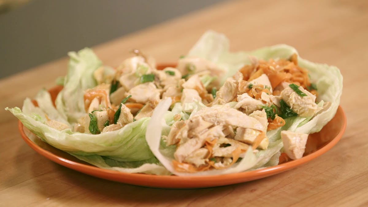 Chicken Breast Lettuce Cups Image