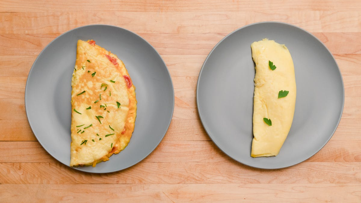 The Omelet: French + American Fold Image