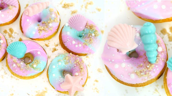 Mermaid Doughnuts Recipe Tastemade
