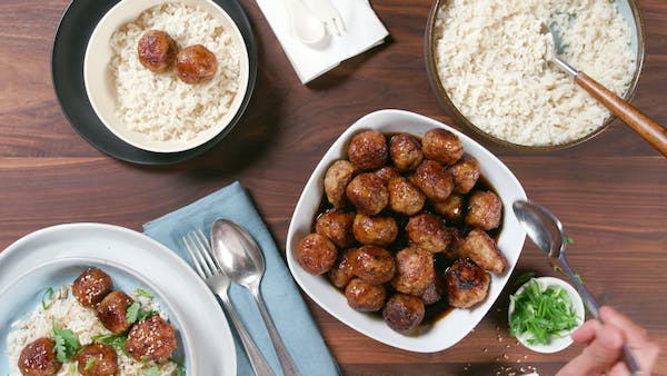 Teriyaki Chicken Meatballs Recipe Tastemade