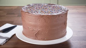 Chocolate Malted Cake Image