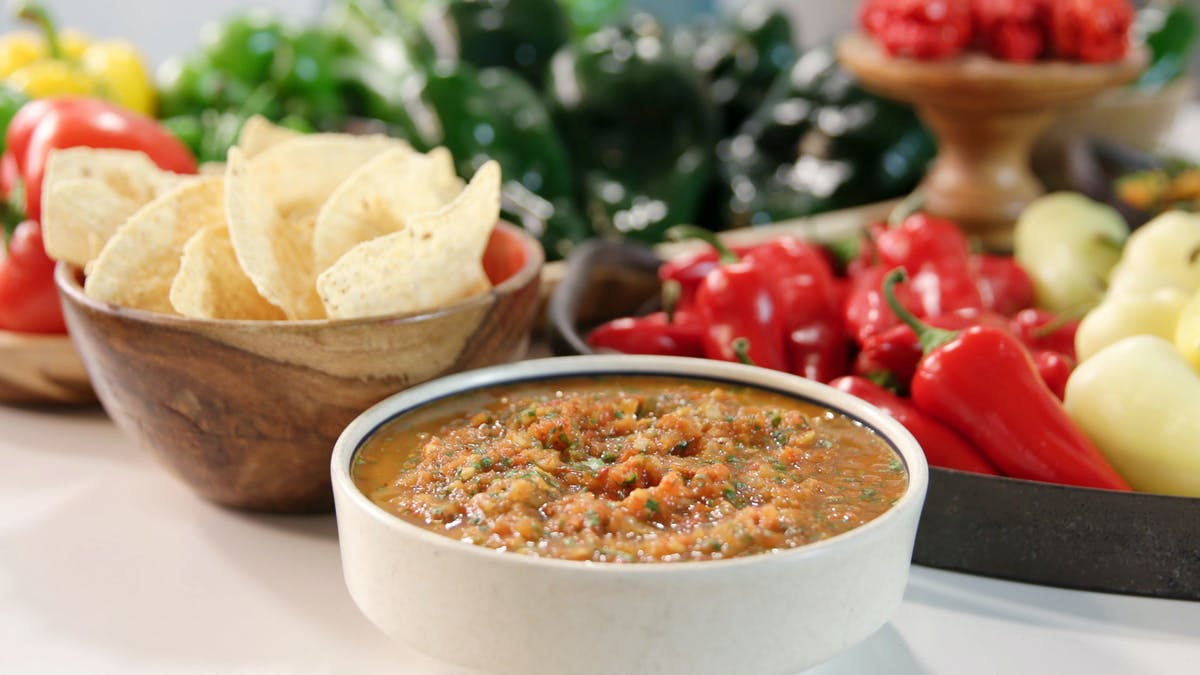 VERY Spicy Roasted Tomato Salsa Image