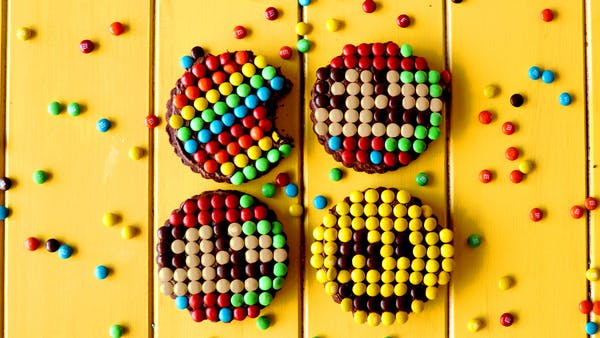 Pixel Art Cookies Recipe Tastemade